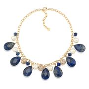 Carolee - Rock Stars Sodalite Cluster Necklace