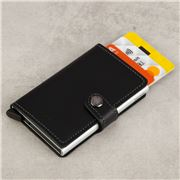Secrid - Original Leather Black Mini Wallet