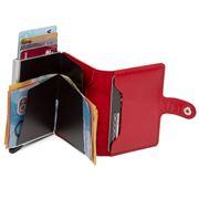 Secrid - Original Leather Lipstick Red Mini Wallet