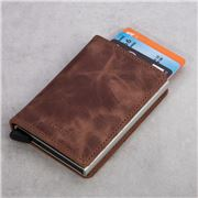 Secrid - Vintage Leather Brown Slim Wallet