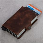 Secrid - Twin Vintage Leather Brown Wallet