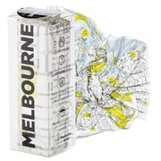 Palomar - Crumpled City Map Melbourne