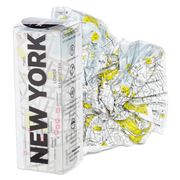 Palomar - Crumpled City New York Map