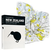 Palomar - Crumpled City Map New Zealand