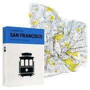 Palomar - Crumpled City Map San Francisco