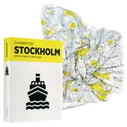 Palomar - Crumpled City Map Stockholm