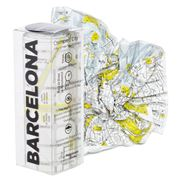 Palomar - Crumpled City Map Barcelona