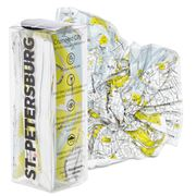Palomar - Crumpled City Map St Petersburg