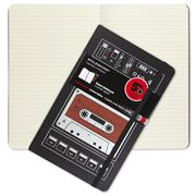 Moleskine - Audio Cassette Large Ruled Notebook Red