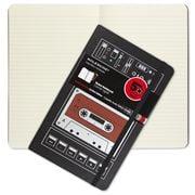 Moleskine - Audio Cassette Large Ruled Notebook Red