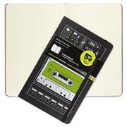 Moleskine - Audio Cassette Large Plain Notebook Green
