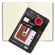 Moleskine - Audio Cassette Ruled Pocket Notebook Red