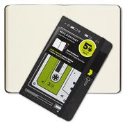 Moleskine - Audio Cassette Pocket Notebook Plain Green