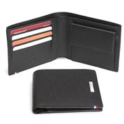 Dupont - Contraste Fold Wallet with Coin Compartment