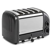 Dualit - NewGen Four Slice Toaster DU04 Metallic Charcoal
