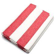 Rans - Alfresco Red Striped Tablecloth 150x230cm