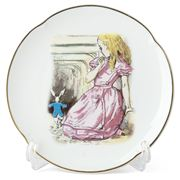 Reutter - Alice in Wonderland Plate Alice with Rabbit
