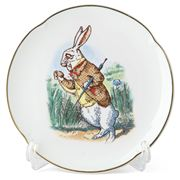 Reutter - Alice in Wonderland Plate White Rabbit