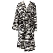 Missoni - Izzy Black & White Bathrobe Extra Large
