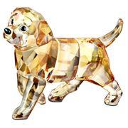 Swarovski - Golden Retriever Trotting Puppy