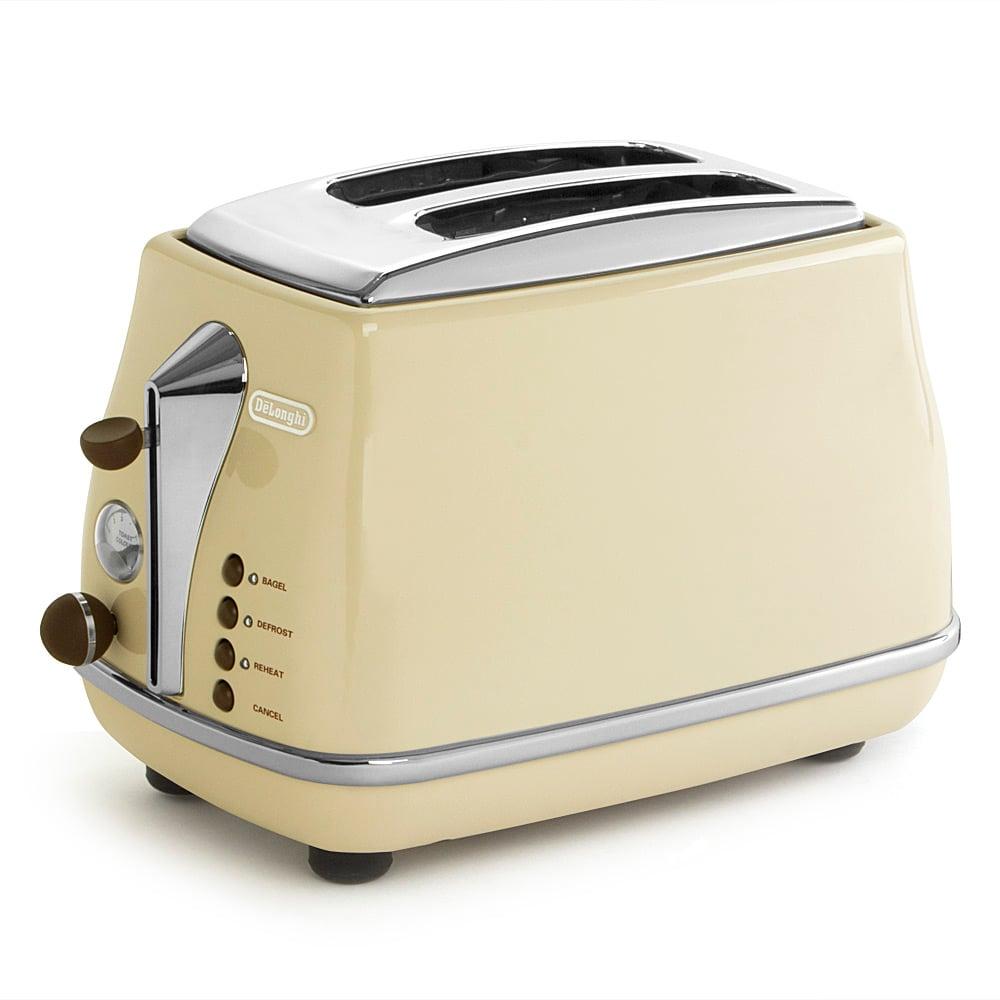 DeLonghi - Icona Vintage Dolce Vita Cream Two Slice Toaster | Peter's ...: www.petersofkensington.com.au/Public/DeLonghi-Icona-Vintage-Dolce...