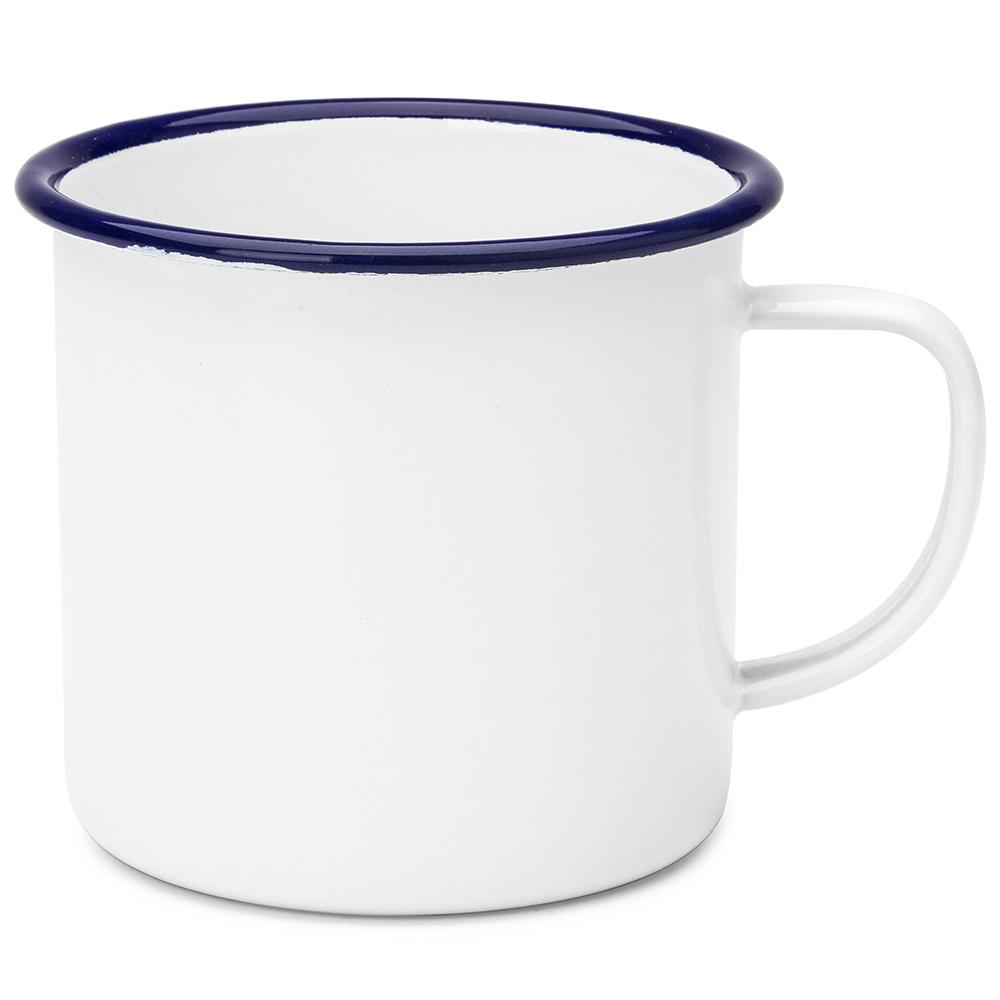 Falcon White Amp Blue Enamel Mug Peter S Of Kensington