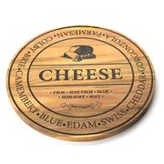 S & P - Fromage Round Wooden Cheese Board Large