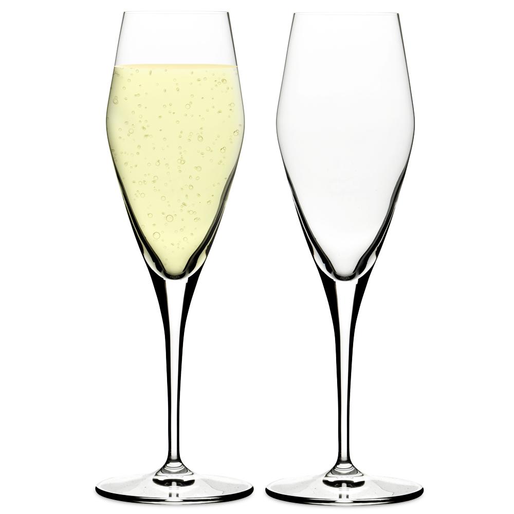 Spiegelau hybrid champagne set 2pce - Spiegelau champagne flute ...