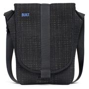 Built NY - Air Messenger Bag for MacBook Air Graphite Grid