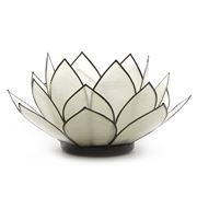 May Time - Clear Tealight Flower