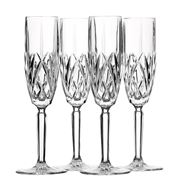 Waterford - Marquis Brookside Champagne Flute Set 4pce