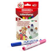 Etafelt - Colourstamp Markers Set 5pce