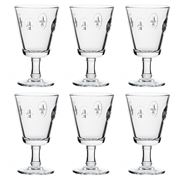 La Rochere - Fleur De Lys Wine Glass Set 6pce