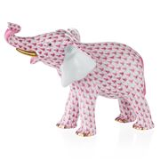 Herend - Pink Mother Elephant