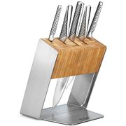 Global - Katana Knife Block Set 6pce