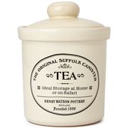 Henry Watson - Buttermilk Suffolk Tea Storage Jar