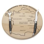 Laguiole - Debutante Black Cheese Board Set