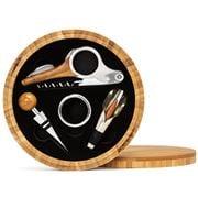 Carlo Rossini - Round Bamboo Wine Kit