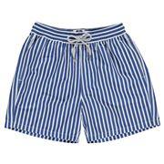 Love Brand - Men's Royal Candy Stripe Swimming Shorts Medium