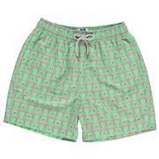 Love Brand - Men's Flamingo Frolic Swimming Shorts Medium