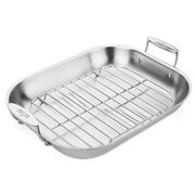 All-Clad - Stainless Steel Roasting Pan with Rack 48x35cm