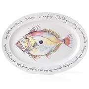 Jersey Pottery - Fruits de Mer John Dory Oval Plate