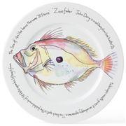 Jersey Pottery - Fruits de Mer John Dory Presentation Plate