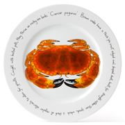Jersey Pottery - Fruits de Mer Crab Presentation Plate
