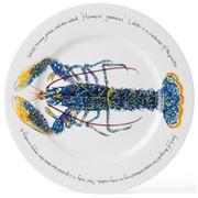 Jersey Pottery - Fruits de Mer Lobster Presentation Plate