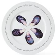 Jersey Pottery - Fruits de Mer Mussels Presentation Plate