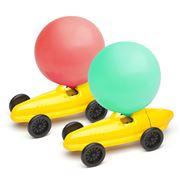 Dieters Holzspielzeug - Yellow Balloon Car
