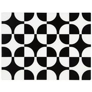 Rapee - Contempo Black Diamante Placemat