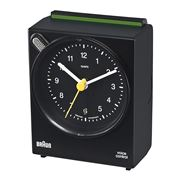 Braun - Voice Activated Alarm Clock Black