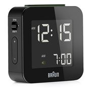 Braun - Digital Alarm Clock Small Black